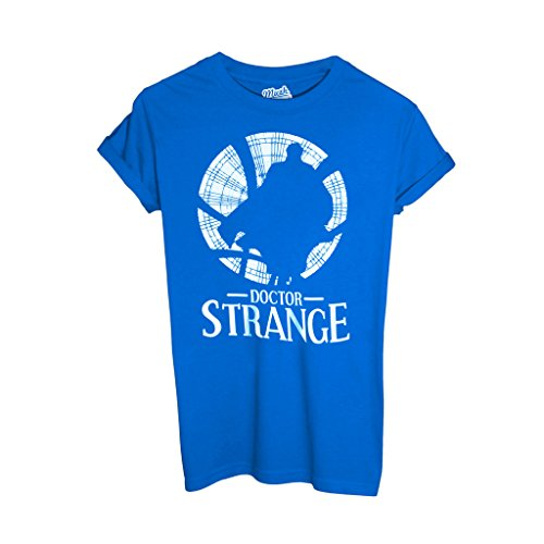 T-Shirt DOCTOR STRANGE - FILM by Mush Dress Your Style - Bambino-L-Blu Royal