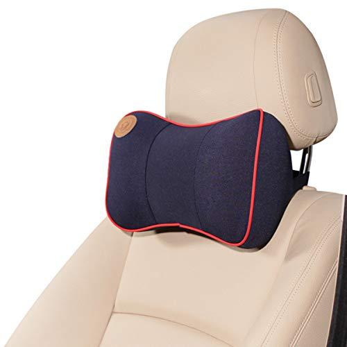 Ergocar cuscino per cervicale & cuscino lombare - ortopedico schiuma di memoria cuscino per la schiena,cuscino supporto lombare, cuscino lombare per sedia ufficio, auto, casa - blu