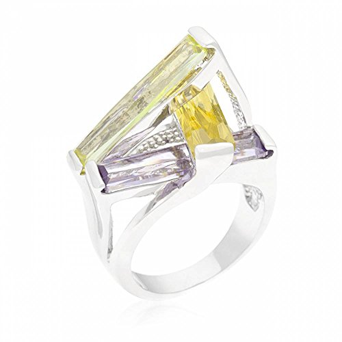 isady-scully-bague-femme-oxyde-de-zirconium-multicolore-taille-55