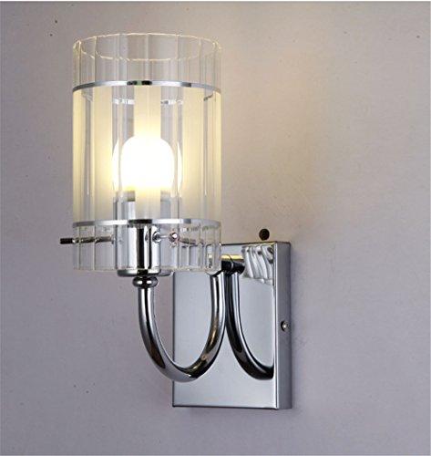 Appliques,Lampe Murale de style européen, le linge de lit simple chambre à coucher tête pièce vivante de lumière Mur escalier allée lampes éclairage doré, 160mm*220mm