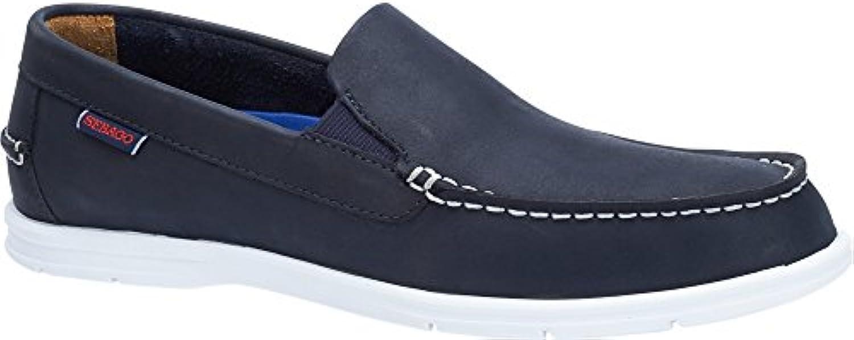Sebago Men's Litesides Slip On scarpe Navy in Dimensione 44.5 E (W) | Alla Moda  | Scolaro/Ragazze Scarpa