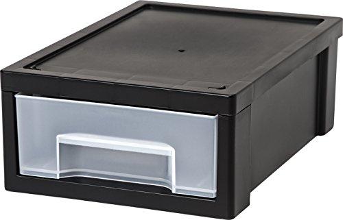 Iris USA, Inc. Iris Desktop Stapeln, Schublade, klein, schwarz, 1Stück - Organizer Schublade Rubbermaid