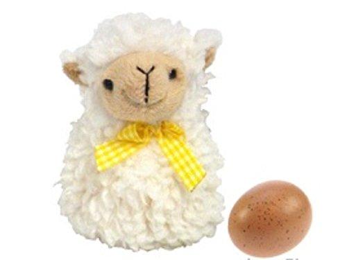 DELTA Eierwärmer Schäfchen plüschiges Schaf gegen kalte Eier preisvergleich