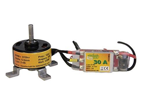 brushless-set-3508-motor-810-kv-und-30a-regler-fertig-verlotet-quadcopter-rc-flugzeuge