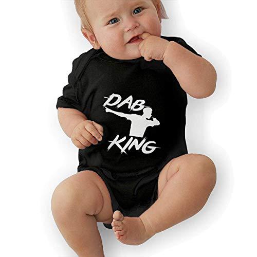 Babybekleidung Jungen Mädchen T-Shirts, Paul Pogba DAB Baby Newborn Cotton Short-Sleeve Bodysuit for Boys and Girls (Little Einstein T-shirt)