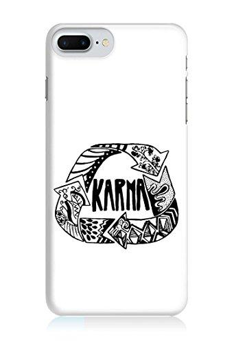COVER KARMA WEISS Handy Hülle Case 3D-Druck Top-Qualität kratzfest Apple iPhone 6 / 6S