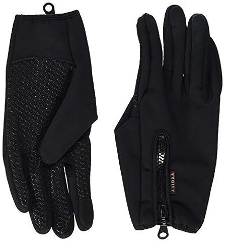 Yygift Gants sport pour extérieur compatibles écran tactile Gants d'hiver coupe-vent pour homme et femme, (Driver Guanti)