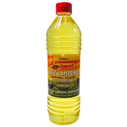 favorit 9 Liter Bio Lampenöl Petroleumlampen Gartenfackeln Vanille Duftöl