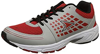 Power Boy's Cooper Red Running Shoes-2 UK/India (35 EU) (4395020)