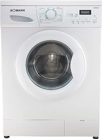 bomann wa 9312 1 waschmaschine frontlader a b 1200 upm 5 kg wei elektro. Black Bedroom Furniture Sets. Home Design Ideas