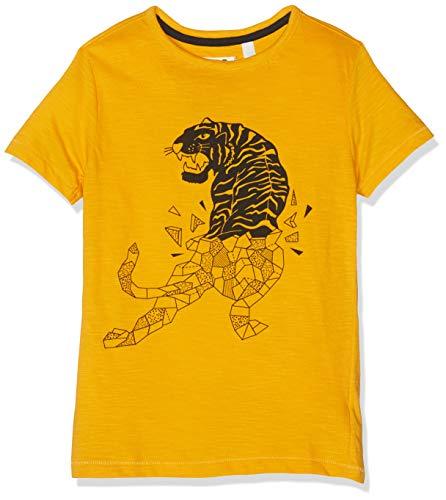 NOP Jungen B Tee ss Berlin T-Shirt, Gelb (Golden Rod P158), 152