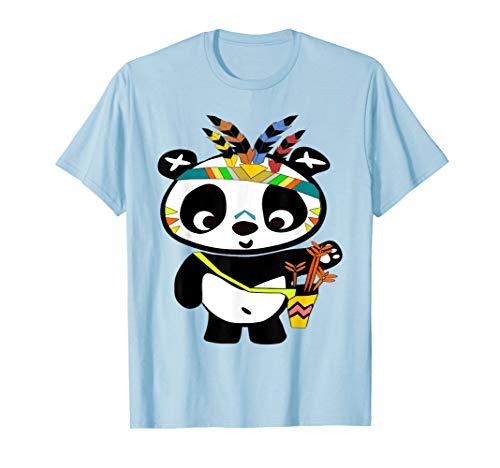 Kostüm Cute Panda Bear - Panda Shirt - lustiger Pandabär im Panda Indiander outfit