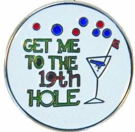 Navika 19th Hole - indicatore della sfera di golf con cappello intoppo