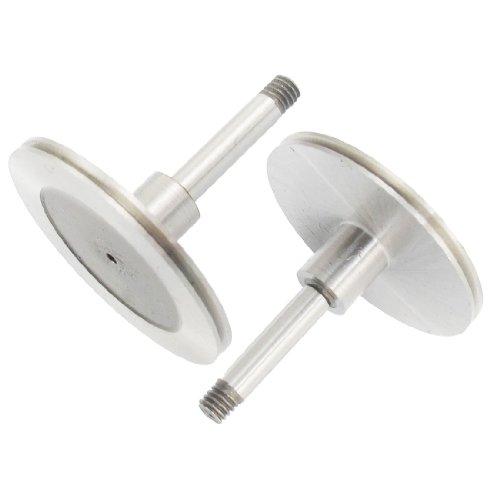 2 Stück, 4 mm, Schaft Ø CNC Draht schneiden Mahcine Roller Edelstahl-Umlenkrolle
