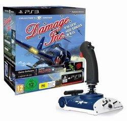 MADCATZ SAITEK AVIATOR FLIGHTSTICK für PS3 im US Kampfflugzeug Design - exklusiv mit Damage Inc. Spiel Ag Aviator