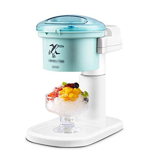 DZWSD Elektrischer Eisrasierer Rasierte Eismaschine Schnelles Systemeis Cone Maker Machine Einfach zu bedienen und zu reinigen für jeden Haushalt/Jede Bar (Machine Maker Ice 220v)