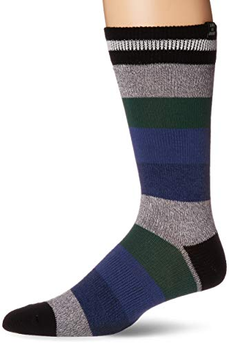 Life Is Good Herren Crew Athletic-Socks, Herren, 38.83371.18.003.50.17, Stripe Jake Camp Blue - Heavy Gauge, Einheitsgröße