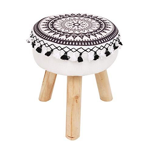 Zhaoyongli-sgabelli stools sgabello in legno massello sgabello da letto in camera da letto sgabello sgabello borsa morbida sgabello sgabello creativo