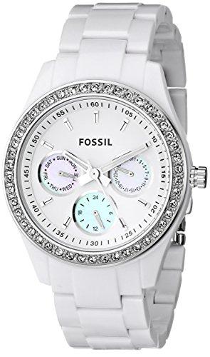 Reloj fossil mujer blanco