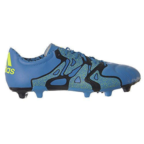 adidas X 15 2 FG AG Leather Mens Football Boots   Soccer Cleats Size UK 6