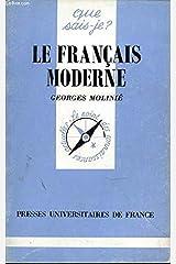 Le français moderne Broché