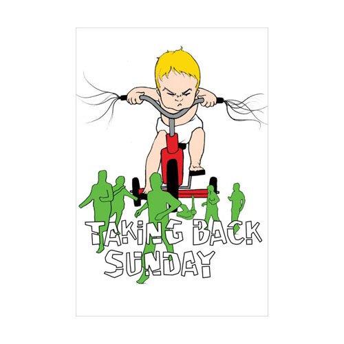 Taking Back Sunday Poster (Taking Back Sunday Poster big daddy)