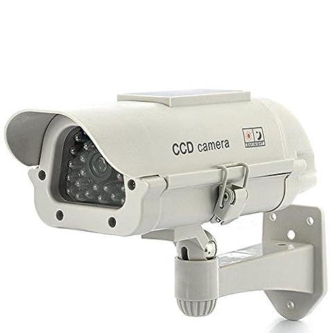 Solaire Exterieur - Camera CCTV Factice d'extérieur -
