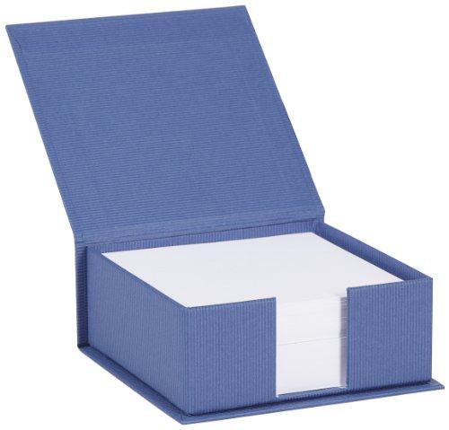 Rössler Soho quadratisch nachfüllbar Jotter Box-Deep Blue -