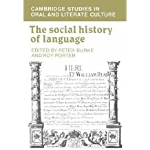 [(The Social History of Language)] [Author: Peter Burke] published on (December, 2003)