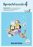 Sprachfreunde - Ausgabe Nord (Berlin, Brandenburg, Mecklenburg-Vorpommern) - Neubearbeitung 2015: 4. Schuljahr - Arbeitsheft: Schulausgangsschrift