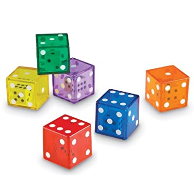 Learning Resources Jumbo Dice in Dice - Set of 12 by Learning Resources (UK Direct Account)