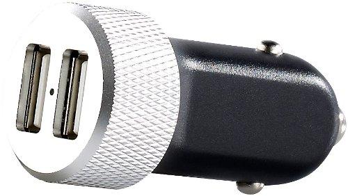 revolt 2fach-Mini-USB-Netzteil für Kfz 12 V, 4,2 A, 2x USB-Port