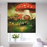 3D Roller Curtain, Size 200 * 200 cm - HKS0041A