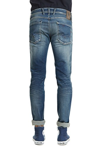 Replay Anbass - Jeans - Slim - Homme Bleu
