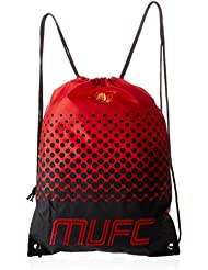 1776402ee9 Manchester United FC Official Fade Football Crest Drawstring Sports Gym Bag