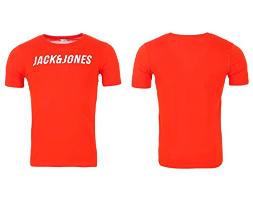 JACK & JONES T-Shirt JCOMULE TEE CREW NECK SS CORE by JACK & JONES Fieryred