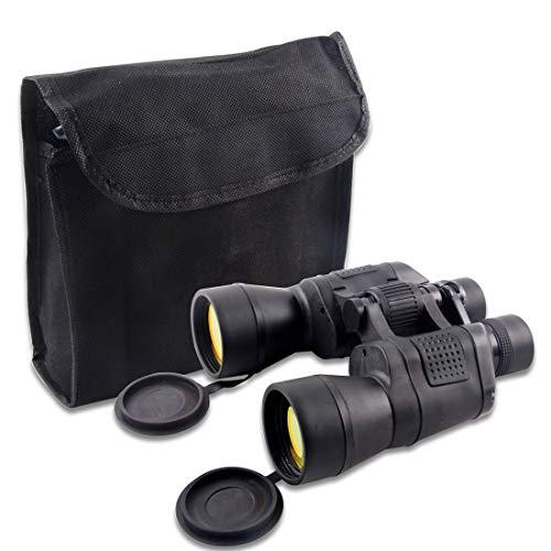 deAO Children's Adventure Exploration Binoculars 20 x 50 Inducing Lens Covers Carry Case