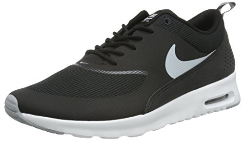 Nike Air Max Thea, Chaussures de Course Femme Noir (Black/Wolf Grey/Anthracite/White)