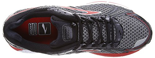 Brooks - Scarpe sportive - Running Vapor Men, Uomo Black/Anthracite/Marsred