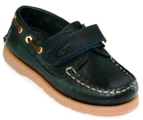 Gallucci 5010 Bootsschuhe / Segelschuhe Kinderschuhe Blau (Blue)