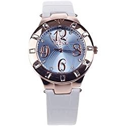 AODASI Bling Jewellery Rose Gold Plated Classic Round Women Ladies Watch Quartz Wrist Watch