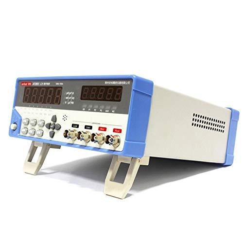 Stromkreisprüfer AT2811 Desktop Präzisions LCR Meter Frequenz 100Hz 120Hz 1kHz 10kHz Digital Bridge LCR Test, Multitester