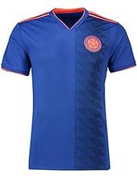 GDSQ 2018 Columbia Away Uniforme De La Copa del Mundo Jersey Azul De  Visitante De Colombia 2c4f16b116809