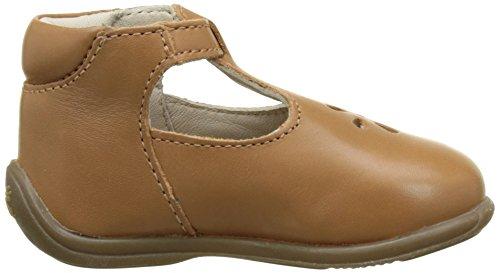Aster Odjumbo, Chaussures Marche Bébé Fille Marron (Camel)