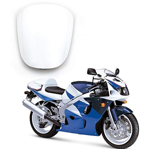 Artudatech Motocicleta Funda para Asiento Trasero Carenado, Moto Rear Seat  Cowl Moto Colin para SUZU-KI GSXR 600 GSXR 750 SRAD 1996-1999
