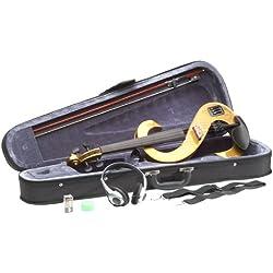 STAGG violín eléctrico SET 4/4 EVN 4/4 horas - de la miel violines eléctricos