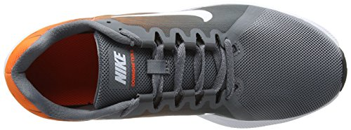 Nike Downshifter 8, Chaussures de Running Homme Gris (Cool Grey/White-Hyper Rouge Crimson-Dark Grey 003)