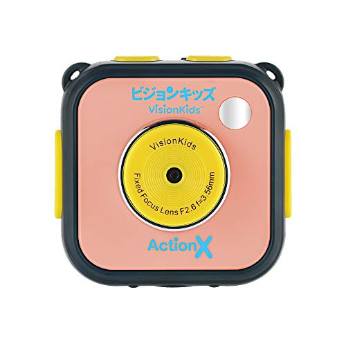 Fotocamera per bambini, impermeabile sport videocamera dv per bambini, videocamera 5mp hd subacquea per bambini, lcd 1.77 pollici, fotocamera digitale cmos da 5 mp (rosa)