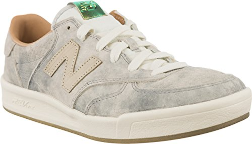 new-balance-womens-classics-300-womens-grey-leather-sneakers-in-size-38-grey