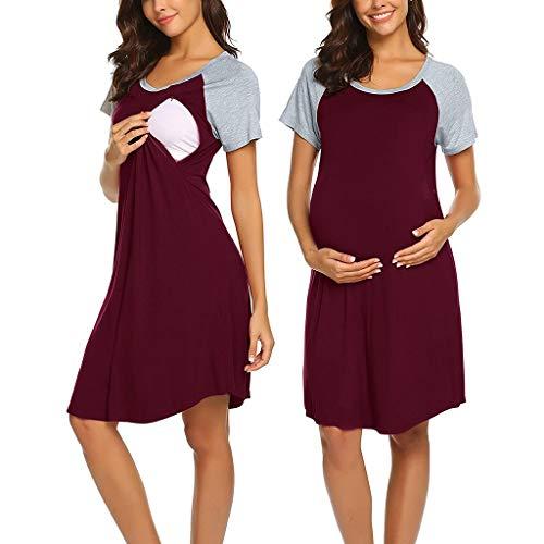 Daringjourney Mujeres Embarazadas cosiendo Vestido